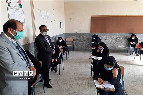 برگزاری آزمون پیشرفت تحصیلی پایه نهم در زابل
