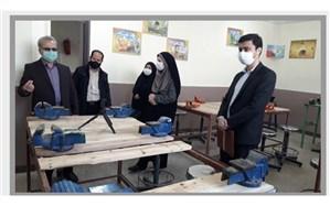اجرای طرح مهارتآموزی  دانشآموزان پایه هفتم در ورامین