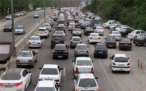تردد در محورهای برون شهری ۳.۴ درصد افزایش یافت