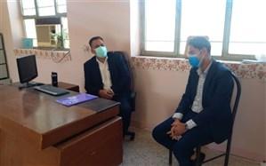 بازدید رئیس سازمان دانش آموزی هرمزگان از مناطق و شهرستانهای استان
