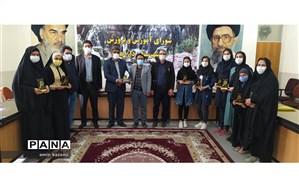 تجلیل از دانش آموزان  مقام آور جشنواره علمی پژوهشی پژوهش سراهای سراسر کشور در داراب
