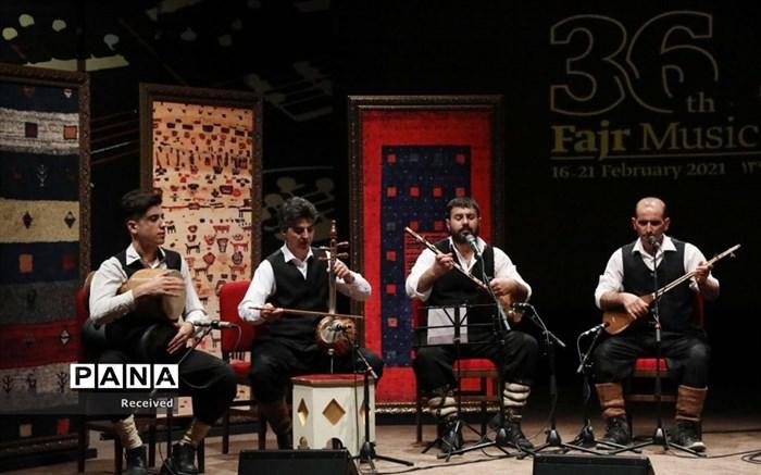 چهارمین روز سی و ششمین جشنواره موسیقی فجر