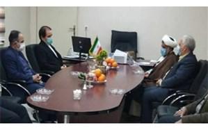 دیدار نماینده مردم ورامین ، پیشوا و قرچک در مجلس شورای اسلامی  با بخشدار جوادآباد