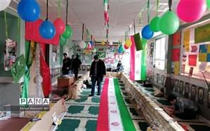 برگزاری آیین تجلیل از مجریان نمایشگاه مدرسه انقلاب در فاروج