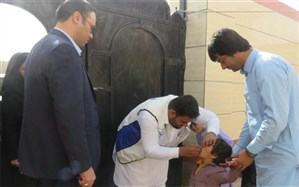 پوشش 100 درصدی واکسیناسیون فلج اطفال در سیستان و بلوچستان