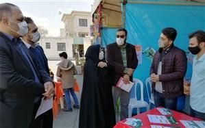 نمایشگاه دستاوردها ی کانون شهید رجائی  آموزش و پرورش ناحیه دو شهر ری