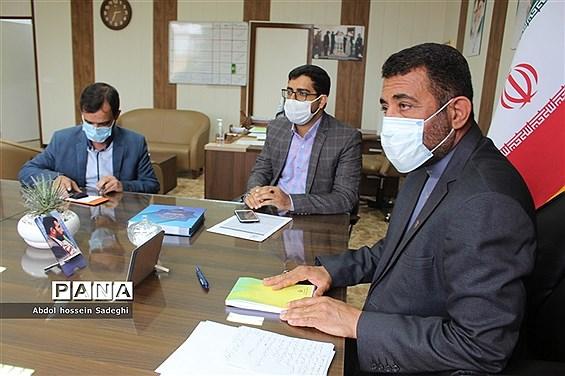 جلسه مشترک امر به معروف و نهی از منکر استان و پایگاه مجازی  استان بوشهر