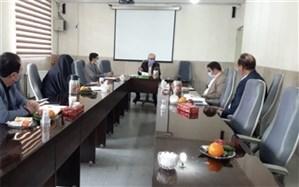 جلسه قطب معاونین پرورشی و تربیت بدنی  شرق شهرستان های استان تهران در ورامین
