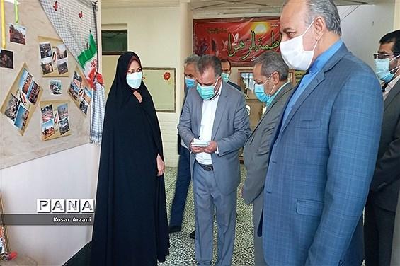 بازدید معاون پرورشی و فرهنگی وزارت آموزش و پرورش از دبیرستان حضرت فاطمه زهرا (س)
