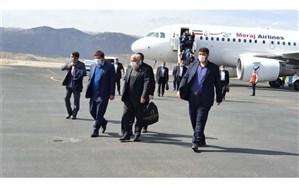 تعدادی از  نمایندگان مجلس شورای اسلامی جهت بازدید از شهر زلزله زده سی سخت وارد یاسوج شدند