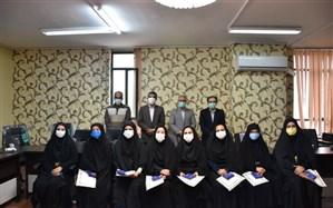 تقدیر از مدرسان جهرمی کارگاه کشوری تربیت معلم چند ساحتی