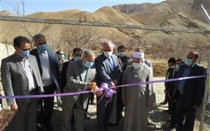افتتاح استخر اردوگاه پیشتازان انقلاب شهرستان مرزی درمیان با حضور معاون وزیر