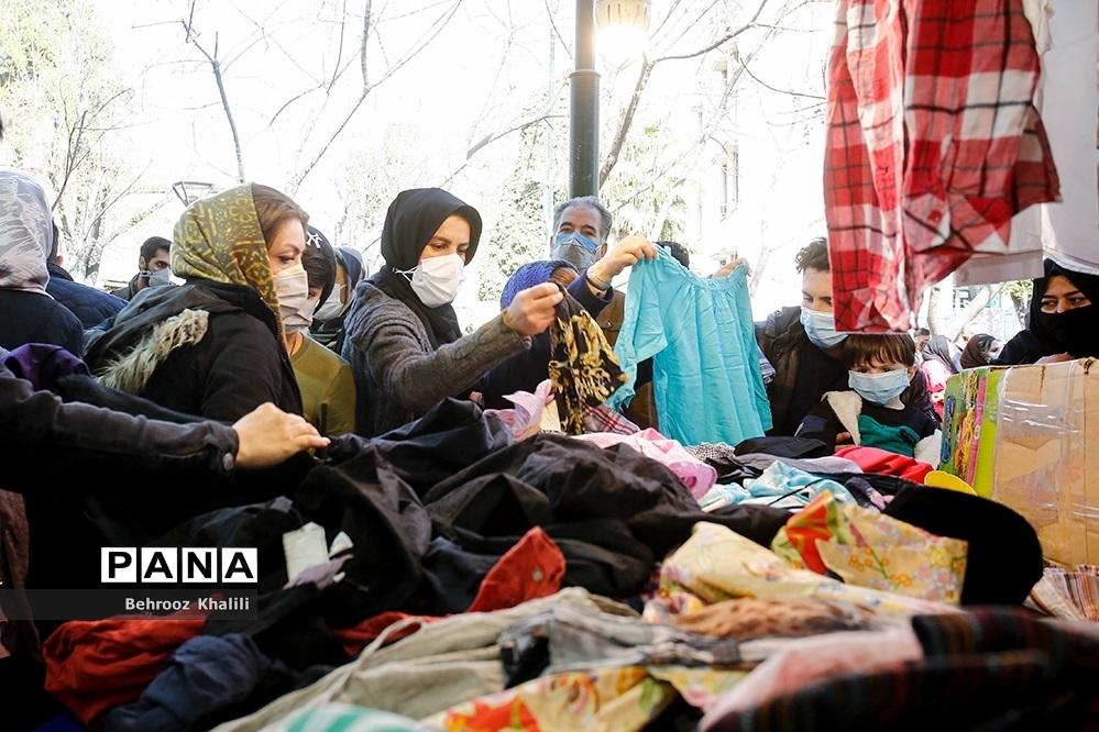 خرید کرونا از بازار شب عید