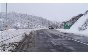 کاهش دما و بارش برف در اردبیل