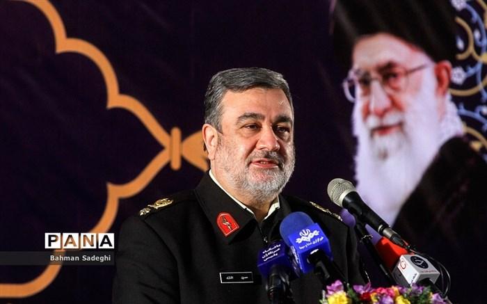 مراسم افتتاحیه طرح های عمرانی فرماندهی انتظامی تهران بزرگ