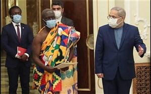 پوشش جالب سفیر غنا در دیدار با رئیسجمهوری