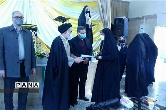 مراسم تقدیر از معاونان تربیتی منطقه خاورشهر به مناسبت هفته تربیت اسلامی