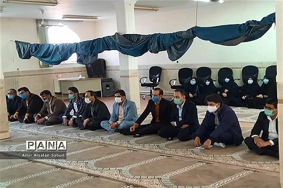 مراسم جشن میلاد حضرت علی (ع) در هیئت دانشآموزی زابل