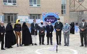 کلنگ بیست و پنجمین مدرسه خیرساز آموزش و پرورش ناحیه 2 مشهد به زمین خورد