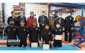 اهدای احکام قهرمانان پنچاک سیلات ایران، به مناسبت ولادت حضرت علی (ع)