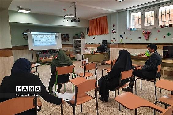 برگزاری داوری مرحله منطقه ای جشنواره نوجوان خوارزمی در رباط کریم