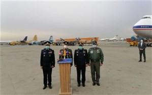 تحویل هواپیما و بالگردهای نظامی جدید به نیروهای مسلح