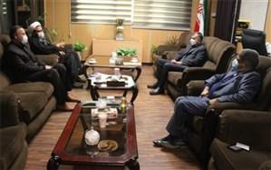 نشست مشترک فرماندار و مسئول دفتر شورای نگهبان درشهرستان اسلامشهر