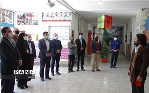 بازدید از مدارس شاهد شهرستان فلاورجان