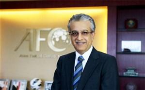 شیخ سلمان: عزیزی خادم از حمایت AFC اطمینان داشته باشد