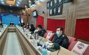 تشریح طرح نماد در کمیته فرهنگی شورای هماهنگی مبارزه با مواد مخدر استان تهران