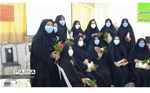 برگزاری مراسم تجلیل از معاونان و مربیان پرورشی در دبیرستان الزهرا (س) کاشمر