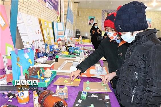 نمایشگاه دستاوردهای تدریس مجازی دانش آموزان در آباده
