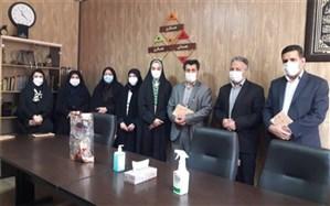 معاون پرورشی و تربیت بدنی و همکاران سازمان دانش آموزی ناحیه 3 کرج با کارکنان سازمان دانش آموزی استان دیدار کردند