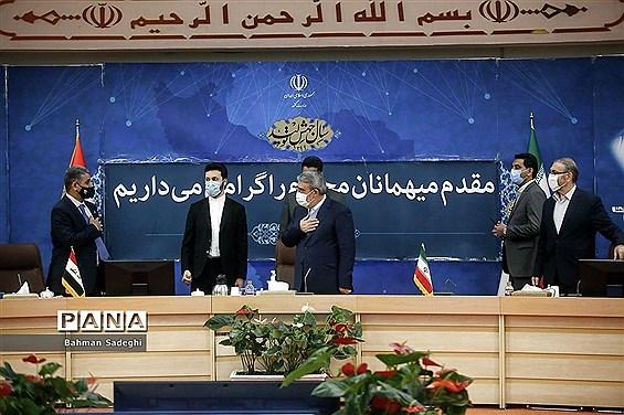 دیدار مشاور امنیتی انتظامی وزارت کشور عراق با  وزیر کشور