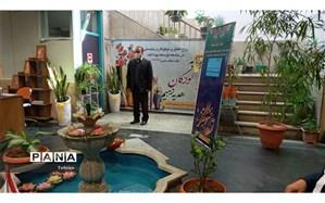 نواختن زنگ نیکوکاری در دبستان پسرانه محمود افشار منطقه 3