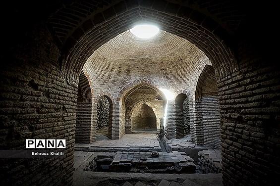 بازدید از حمام تاریخی اسماعیلیون و بازسازی پل تاریخی کن