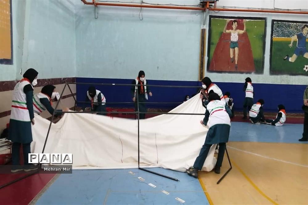 جشن سپاس مربی سازمان دانش آموزی استان گلستان