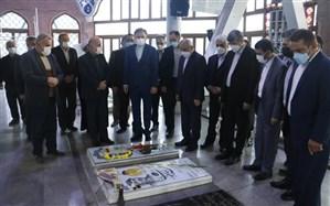 ادای احترام حاجی میرزایی به مقام شامخ شهدای ۸ سال دفاع مقدس و میرزا کوچک خان جنگلی