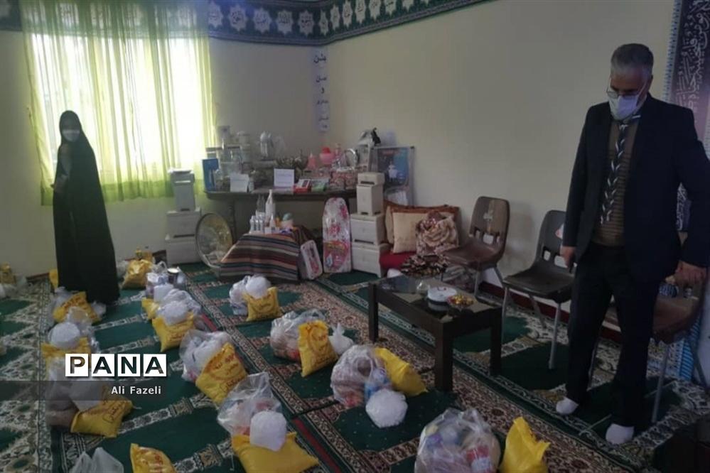 مراسم جشن نیکوکاری در هنرستان پویا ناحیه 7 مشهد