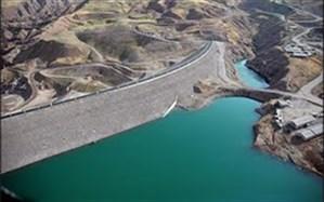 کاهش ذخیره برقی حوضه ابریز سدها