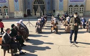 مراسم اعزام کاروانهای مجازی راهیان نور درشهرستان پاکدشت