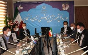 برگزاری جلسه ستاد استانی هفتمین  دوره جشنواره نوجوان خوارزمی  در زنجان