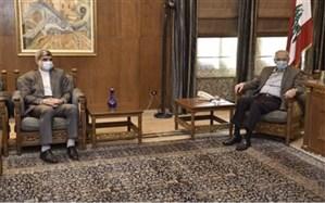 دیدار سفیر ایران با رئیس پارلمان لبنان