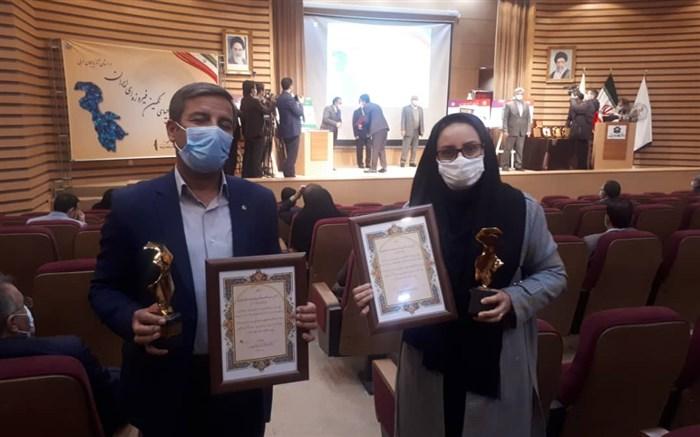 دبیر کارگروه ملی احیای دریاچه ارومیه از 2 معلم  آذربایجان غربی تجلیل کرد