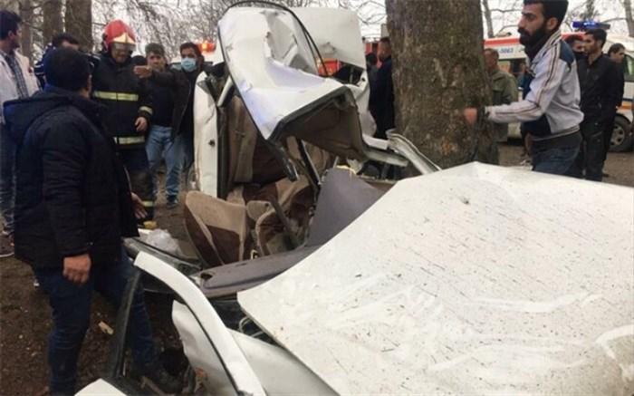 واژگونی خودرو در محور گرگان-کردکوی ۳ کشته برجا گذاشت