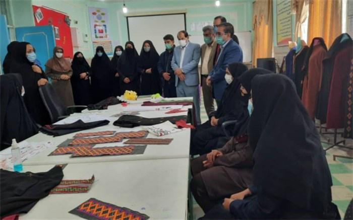 طرح اتاق کارآفرینی در هنرستان فجر زابل افتتاح شد