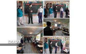 بازدید از مدارس روستایی و اهدای هدیه