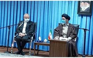 دیدار حاجی میرزایی با نماینده ولی فقیه در استان آذربایجان شرقی