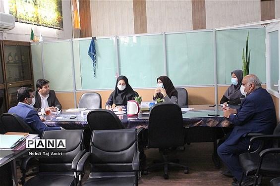 جلسه سازمان دانش آموزی استان بوشهر