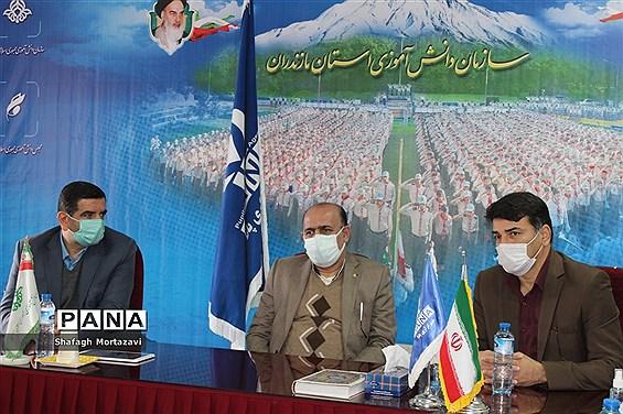 نشست  مدیرکل فرهنگی، هنری وزارت آموزش و پرورش با دانشآموزان خبرنگار مازندران